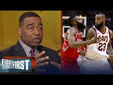 Can LeBron James surpass James Harden as the MVP in 2018? | FIRST THINGS FIRST