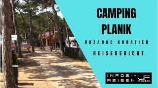 Camping Planik Razanac Kroatien