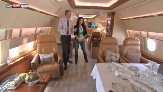 أحدث الطائرات الخاصة بمعرض أبوظبي