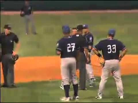 Asheville minor league coach has a meltdown in Charleston