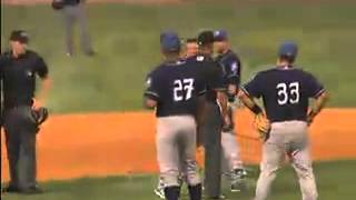 Asheville minor league coach has a meltdown in Charleston