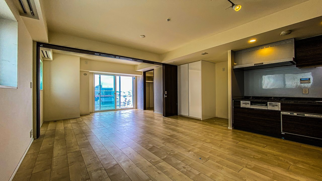【高級マンション】見晴らしの良い1LDKの角部屋。住友不動産の分譲マンション。「シティハウス目黒ザ・ツイン」