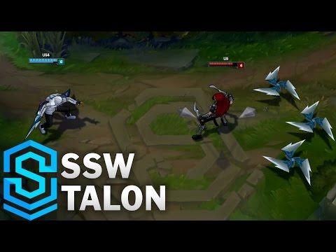 SSW Talon Skin Spotlight - Assassin Update 2016 - League of Legends
