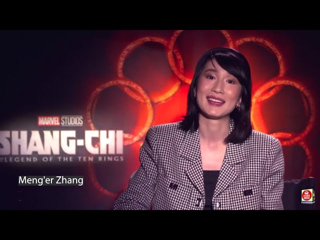 'Shang-Chi and the Legend of the Ten Rings' Hits $320 Million Worldwide - Actress Meng'er Zhang