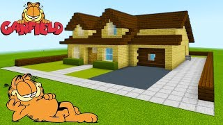 Minecraft: How To Make Garfields House &quotJon Arbuckle House Tutorial&quot