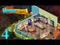 HomeScapes Gameplay Story Kitchen Day 4 / Кухня День 4