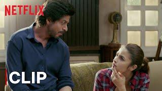 Shahrukh Khan's Life Advice | Alia Bhatt | Kursi Scene | Dear Zindagi | Netflix India