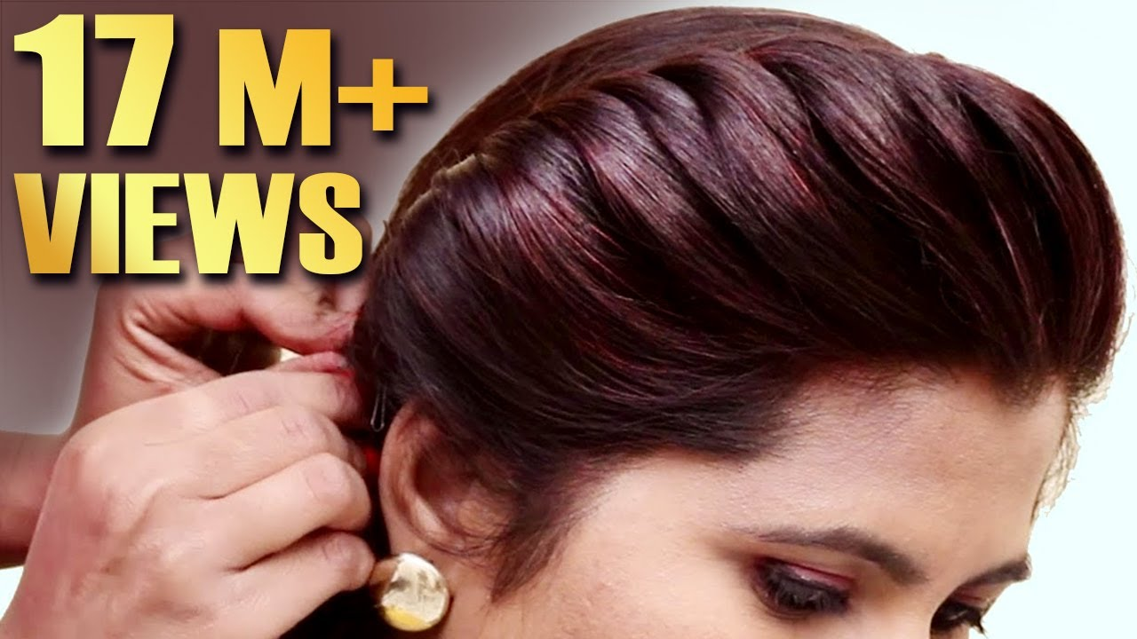 Easy Party hairstyle 2019 for girls  Hair Style Girl  hairstyles  Best Hairstyles for long