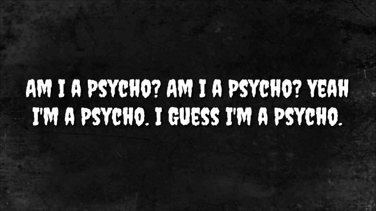 Tech N9ne - Am I a Psycho (Lyrics)