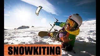 Snowkitin  Сноукайтинг