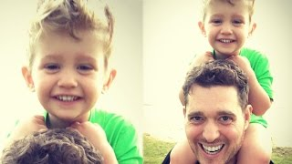 Michael Buble Shares Positive Update on Son Noah's Cancer Battle