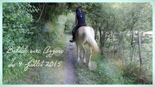 Balade avec Azzaro du 9 juillet 2015