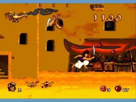 Aladdin, megadrive (1/10) - Aladdin, megadrive (1/10)