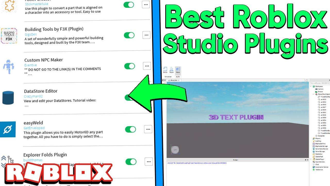 Creator Studio Roblox Tutorial Roblox Studio Plugins That Everyone Needs Youtube