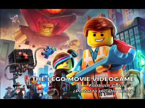 The LEGO Movie Videogame - Soundtrack - Flatbush Gulch #1 (Portal to the Old West)