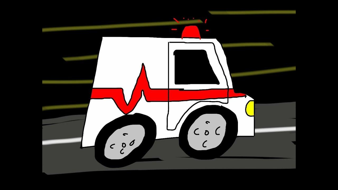 Aprende a dibujar una Ambulancia - Learn to draw an Ambulance - YouTube