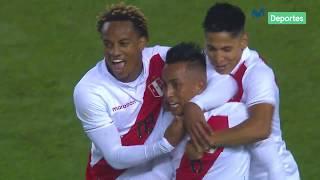 Perú vs. Costa Rica: así fue el golazo de Christian Cueva ante Costa Rica