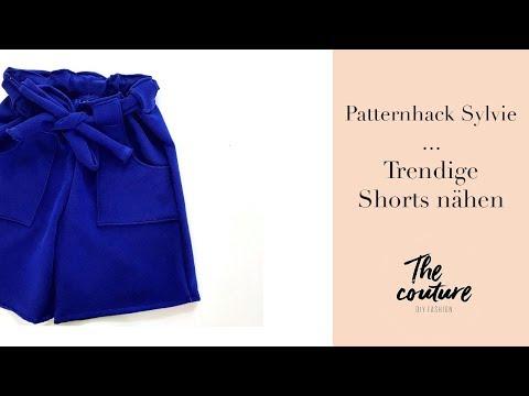 Sommerliche Shorts nähen - Patternhack Sylvie -The couture
