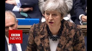 UK PM Theresa May's Brexit statement- BBC News