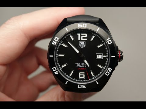 2a4b857095e2 Tag Heuer Formula 1 Men s Watch Review Model  WAZ2115FT8023 - YouTube