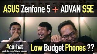 Video ASUS Zenfone 5 & ADVAN S5E: Layak Dibeli? #CurhatGadget download MP3, MP4, WEBM, AVI, FLV April 2018