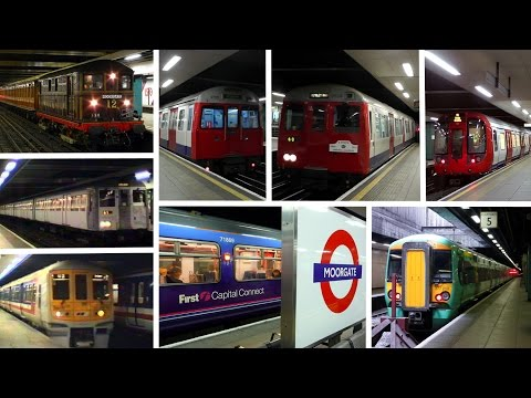 Moorgate Station Railway Contrasts Part 2
