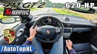 Porsche 911 GT2 997 *Akrapovic* POV Test Drive by AutoTopNL