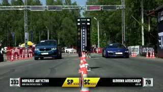 BMW X5M F85 Evotech vs Audi R8 30-31.05.2015 Unlim 500+