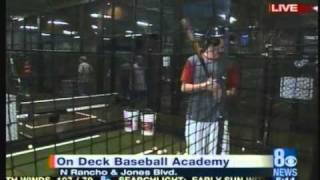 Watch ProBatter on KLAS-TV CBS Las Vegas at On Deck Sports on July 13, 2010
