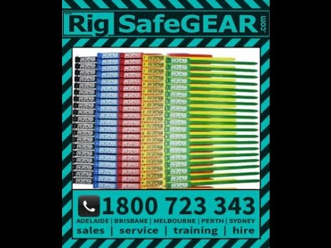 How To Use Rigtag Inspection 175mm Safety Tags For Rigging Safety Equipment Raktag