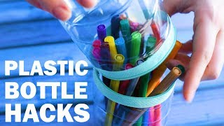 29 Great Plastic Bottle DIYs & Hacks to Try at Home