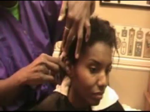 My Natural Hair Journey....Big Chop Day!!! Part 1 - YouTube