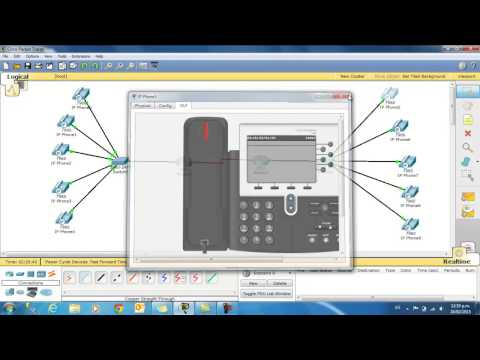 Video VoIP Packet Tracer