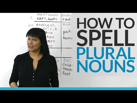 How To Spell Plural Nouns Easily