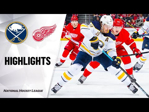 NHL Highlights | Sabres @ Red Wings 1/12/20