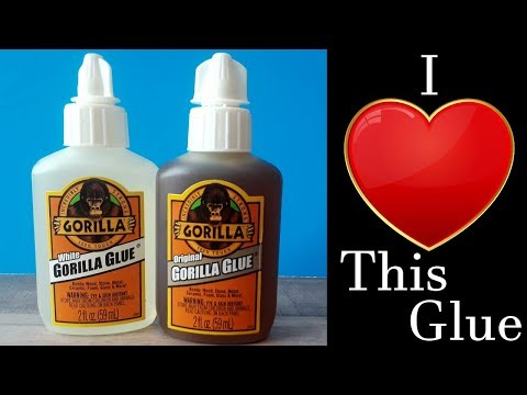 What is Gorilla Glue used for? - Styrofoam! pros, cons, uses, instructions,  drying times