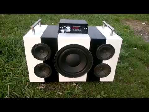 Portable Bluetooth Boombox 2 1 60w Final Test Diy Hun
