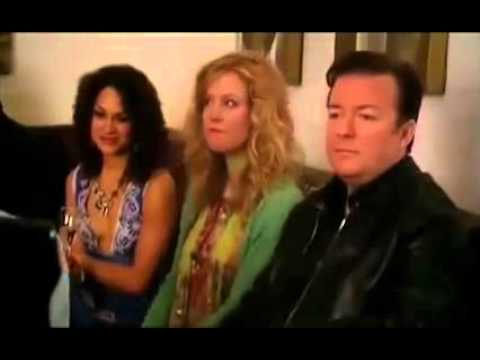 ricky gervais extras david bowie chubby little fat
