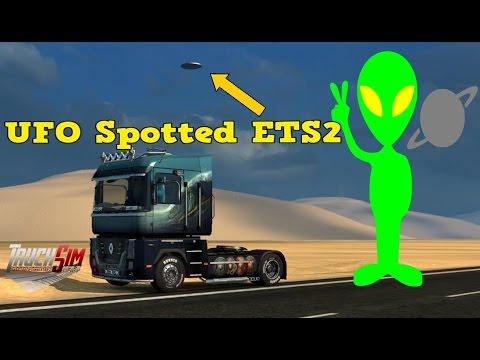 Euro Truck Simulator 2 - UFO Spotted - TruckSim Map |