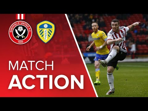Blades 0-1 Leeds - match action