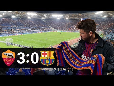 Roma - barcelona 3:0 | champions league | 10.04.2018