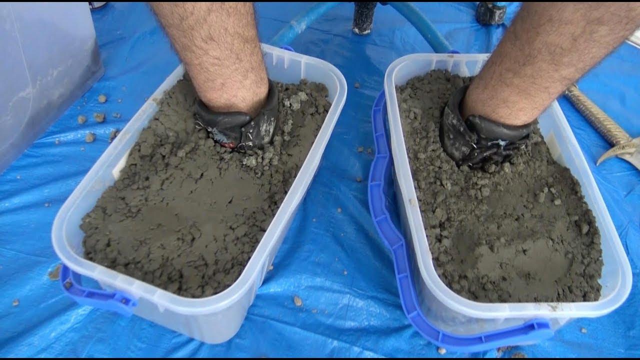 Concrete Shoes - YouTube