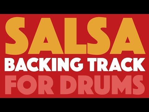Salsa Backing Track For Drums