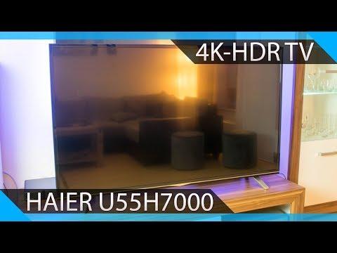 Haier U55H7000 - 4K TV/Fernseher Testvideo