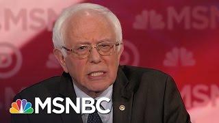 Bernie Sanders: Break Big Banks Up   Democratic Debate   MSNBC