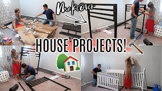 HOUSE PROJECTS!🏠 | STARTING THE BEDROOM MAKEOVER | WEEKEND VLOG