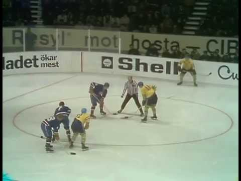 VM 1969 - Sverige Vs Tjeckoslovakien