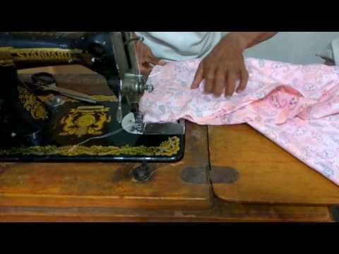 Cara Membuat Pola Dan Menjahit Model Baju Gamis Terbaru Bagian 3