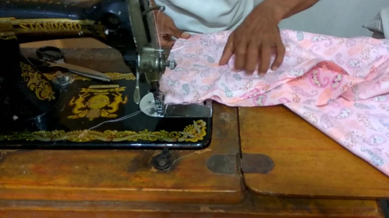 Cara Membuat Pola Dan Menjahit Model Baju Gamis Terbaru