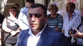 Էջմիածնի քաղաքապետը հրաժարվեց խոսել կրակոցների մասին